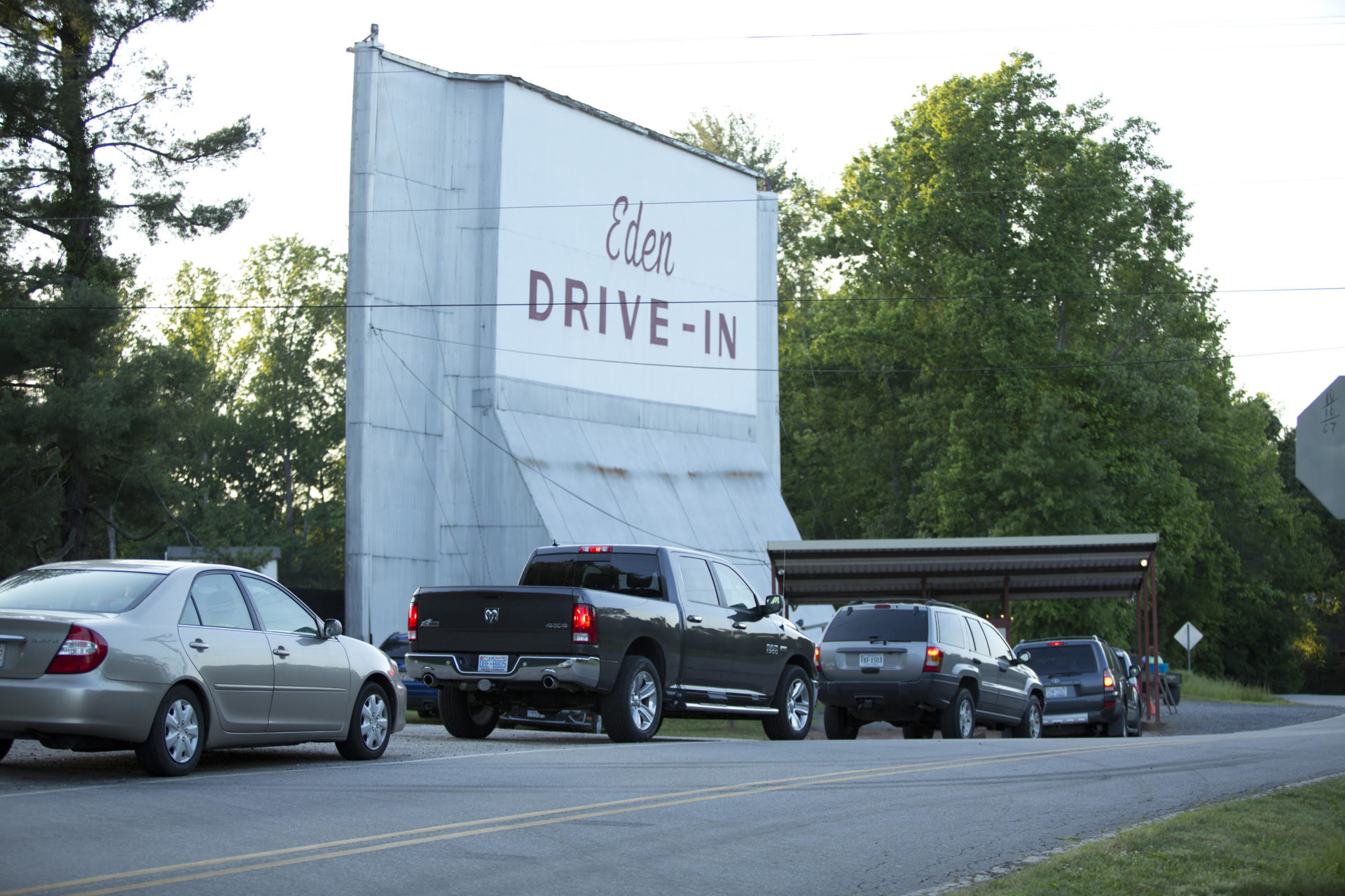 Watch movies under the stars at the Eden Drive-In