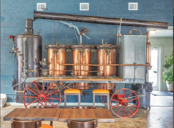 7 distilleries where you can revisit the Dan River Basin's