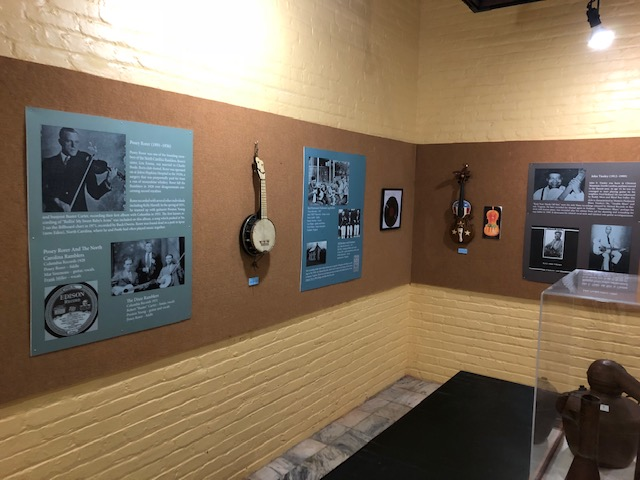 """Reliving our Roots: Music of Henry County,"" an exhibit at Martinsville Henry County Heritage Center & Museum"